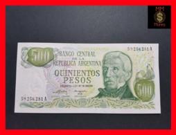 ARGENTINA 500 Pesos L. 18.888/69 P. 298 Serie A UNC - Argentine