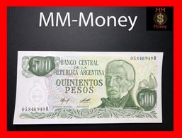 ARGENTINA 500 Pesos P. 303 Serie B  UNC Sig. Variety - Argentina