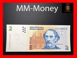 ARGENTINA 2 Pesos Convertibles P. 346 Serie C  UNC - Argentine