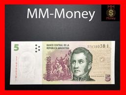ARGENTINA 5 Pesos P. 353 Serie I  UNC - Argentinië