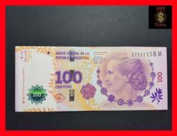 ARGENTINA 100 Pesos P. 358 2012  UNC Evita Serie M Different From Serie A - Argentina