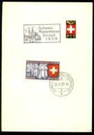 Schweiz Helvetia 1939 Spezial Blatt Mit Michel 344 - [ 2] 1946-… : Repubblica