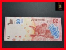 ARGENTINA 20 Pesos 2017  P. New  UNC - Argentine