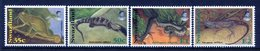 Swaziland 1996 Reptiles - 2nd Issue - Set MNH (SG 658-661) - Swaziland (1968-...)