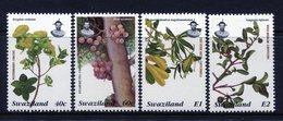 Swaziland 1996 Trees Set MNH (SG 662-665) - Swaziland (1968-...)