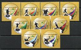 Swaziland 2010 Football World Cup, South Africa Set MNH (SG 800-808) - Swaziland (1968-...)