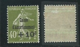 FRANCE: *, N°275, CA, TB - Neufs