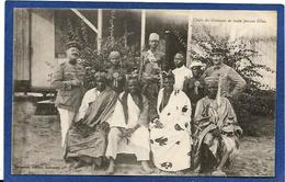 CPA Dahomey Bénin Chefs De Gbesson Nu Féminin Femme Nue Afrique Noire Non Circulé - Dahomey