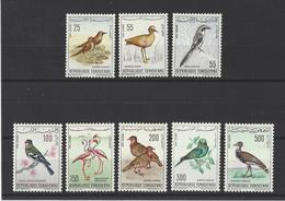 TUNISIE. YT PA  26/33  Neuf **  Oiseaux  1965 - Tunisia