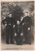 Très Rare 3 Photos De Militaires Coloniale  Dans La Concession Chinoise De Tientsin De 1940 à 1942 - 1939-45