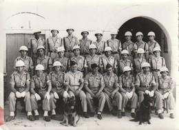 Très Rare Photo Police Militaire Française De Tunis En 1950 Au Fort De Sidi Kacem - 1939-45