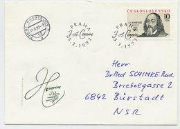CZECHOSLOVAKIA 1992 Komensky 400th Anniversary On FDC.  Michel 3110 - FDC