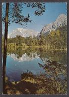 33024/ WEISSENSEE AM FERNPASS, Gegen Zugspitze Und Hochwanner - Autriche