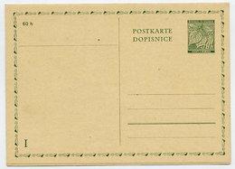 BOHEMIA & MORAVIA 50 H + 50 H.. Reply-paid Postcard Complete Unused. - Bohemia & Moravia