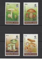 SWAZILAND. YT  630/633  Neuf **  Champignons  1994 - Swaziland (1968-...)