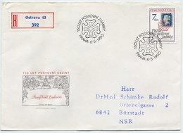 CZECHOSLOVAKIA 1990 Penny Black 150th Anniversary On FDC.  Michel 3048 - FDC