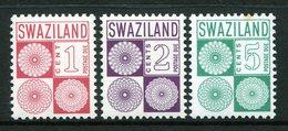 Swaziland 1971 Postage Dues Set LHM (SG D13-D15) - Swaziland (1968-...)