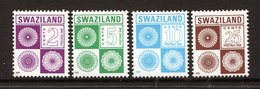 Swaziland 1991 Postage Dues Set MNH (SG D23-D26) - Swaziland (1968-...)