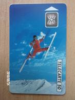 F222 Ski Acrobatique 50U SC4 - Jeux Olympiques