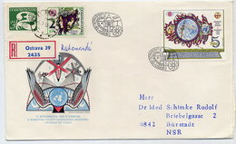CZECHOSLOVAKIA 1982 UN Space Conference On Registered FDC.  Michel 2670 - FDC
