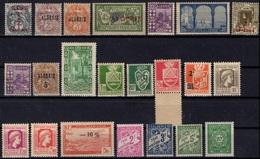 ALGERIE ALGERIEN ALGERIA Lot De 22 Timbres ** (CV 17,64 €) 1 - Algérie (1924-1962)