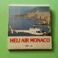 Allumette - Transport - MONACO - HELI AIR MONACO .... - Boites D'allumettes