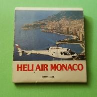 Allumette - Transport - MONACO - HELI AIR MONACO .... - Cajas De Cerillas (fósforos)