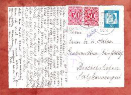 AK St Bartholomae, EF Luther, Berchtesgaden Nach Bischofshofen, Nachportomarken 1964 (56462) - 1945-.... 2. Republik