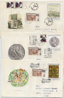 CZECHOSLOVAKIA 1981 Art From The NAtional Gallery On Five FDCs.  Michel 2641-45 - FDC