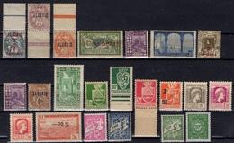 ALGERIE ALGERIEN ALGERIA Lot De 22 Timbres ** (CV 17,64 €) 2 - Algerije (1924-1962)