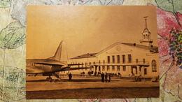 Russia. Siberia. Sverdlovsk  Airport. PLANE / AVION 1962 Postcard - Aerodrome