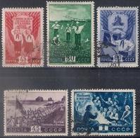 Russia 1948, Michel Nr 1275-79, Used - 1923-1991 URSS