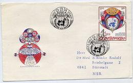 CZECHOSLOVAKIA 1980 UNO 35th Anniversary On FDC.  Michel 2573 - FDC