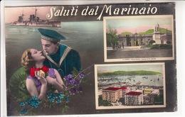 La Spezia-Saluti Dal Marinaio-2 Vedute-Integra E Originale 100%an1- - La Spezia