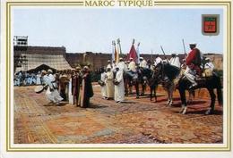 Marocco Typique - Formato Grande Viaggiata – E 7 - Non Classificati