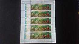 BUZIN - Sénégal: Timbres Numéro 726/27 En Feuille Complète  état Neuf - Sénégal (1960-...)
