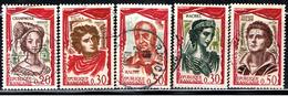 3F 155 // Y&T 1301 à 1305  // 1961 - Francia