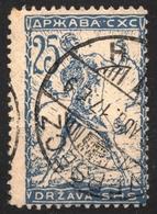 Survivor Stamping VRSAC Versec 1920 1919 HUNGARY SHS Yugoslavia Slovenia - VERIGARI Chain Breaker - 25 Vin - Used Stamps