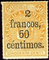 Dominican Republic. Sc #67. Unused. * - Dominican Republic