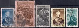 Russia 1950, Michel Nr 1465-69, Used - Usati