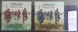 I20- IRAQ 1968 SG 792-793 Complete Set 2v. MNH - Army Day - Iraq
