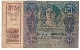 Austria 50 Kronen 1914 - Austria