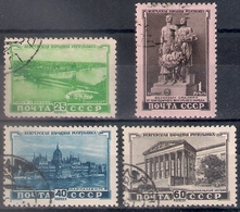 Russia 1951, Michel Nr 1562-65, Used - 1923-1991 URSS