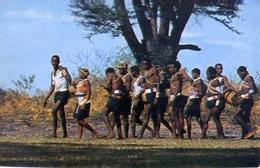 Wakambas Going On A Dancing Assignment - Formato Grande Viaggiata – E 7 - Cartoline