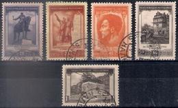 Russia 1951, Michel Nr 1608-12, Used - Usati