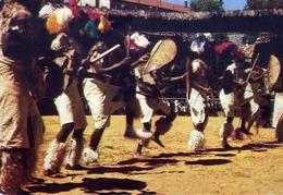 Periple En Afrique Australe - Afrique Du Sud - Danses Folkloriques Zoulov - Formato Grande Viaggiata – E 7 - Cartoline
