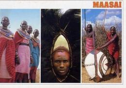 Maasai - Formato Grande Non Viaggiata – E 7 - Cartoline