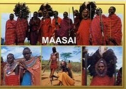 Maasai - Peoples Of East Africa - Formato Grande Non Viaggiata – E 7 - Cartoline