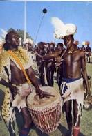 Acholi - Musicians - Formato Grande Viaggiata Mancante Di Affrancatura – E 7 - Cartoline