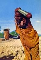 African Girl - Formato Grande Non Viaggiata – E 7 - Cartoline